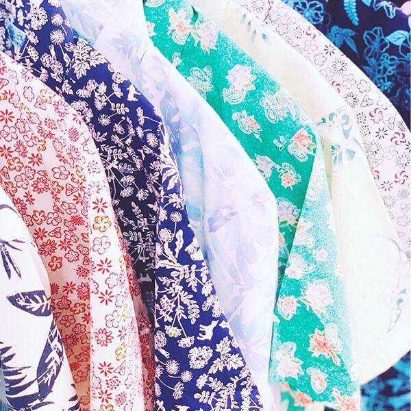リゾートファッションシャツ①